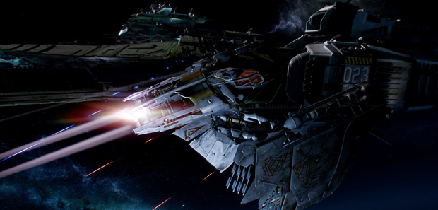 Star Citizen Dogfight Module Footage