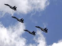 Cuma Latihan, Pesawat Tempur Cina 'Keok' Dengan Pesawat Tempur Jepang , Cina Malah Marah-marah