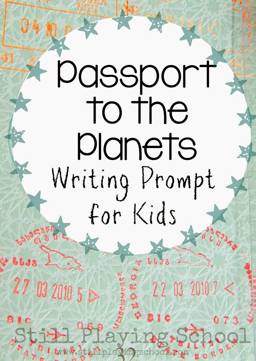 Passport To The Planets A Science Writing Prompt For Kids
