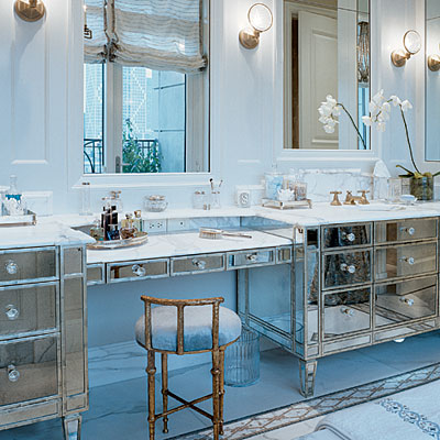 Trove Interiors A Little Bathroom Glamour