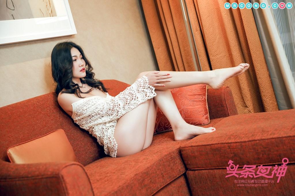 Image TouTiao-2018-04-14-Wan-Jun-MrCong.com-003 in post TouTiao 2018-04-14: Người mẫu Wan Jun (婉君) (26 ảnh)
