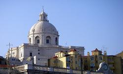 Fachada Panteón Nacional de Lisboa