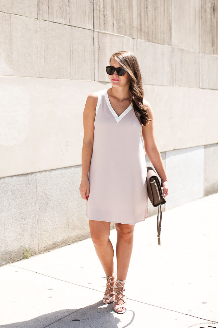 Krista Robertson, Covering the Bases, Travel Blog, NYC Blog, Preppy Blog, Style, Fashion Blog, Summer Dresses, NYC Street Style, Blush Dresses