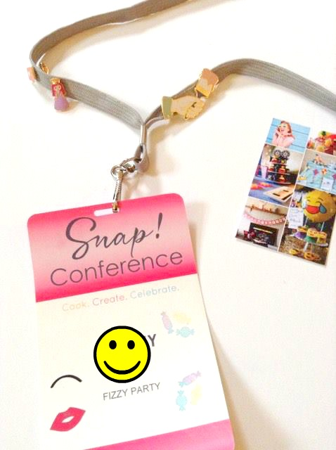 SNAP conference badge