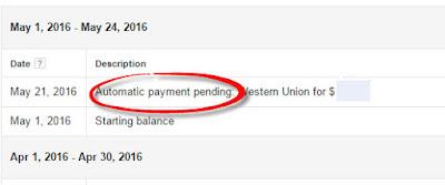 Penyebab Automatic Payment Pending di Google Adsense