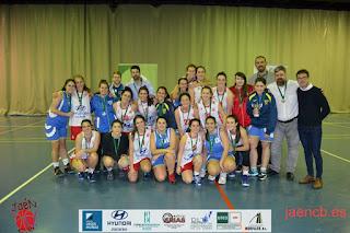 Las chicas del Jaén CB se proclaman campeonas de Liga Provincial 2017/18