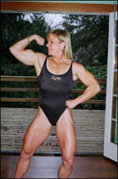 Female Bodybuilder Kris Clark