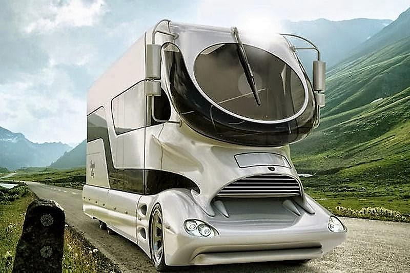 Fieggentrio rijdende luxe de duurste camper ter wereld - Tv standaard huis ter wereld ...