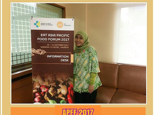 Asia Pasific Food Forum 2017 : Solusi Ketahanan Pangan & Perbaikan Status Gizi Masyarakat Indonesia