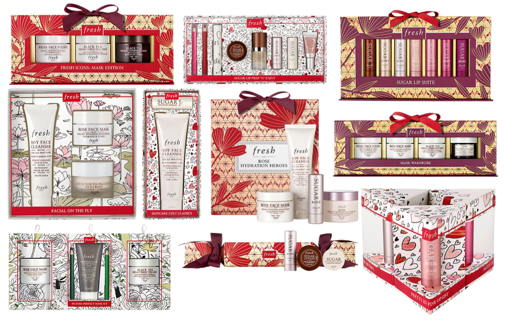 Fresh Christmas Gift Sets 2017