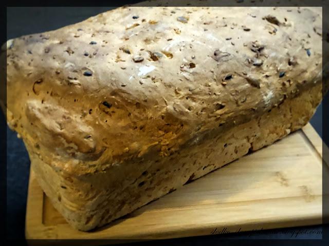 chleb pszenny na drożdżach i kefirze