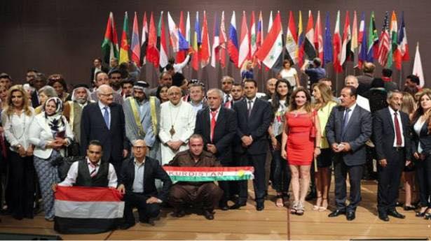 """مؤتمر الشبيبه الدولي للسلام """" جمع الثقافات المتعدده تحت رايه السلام """""""