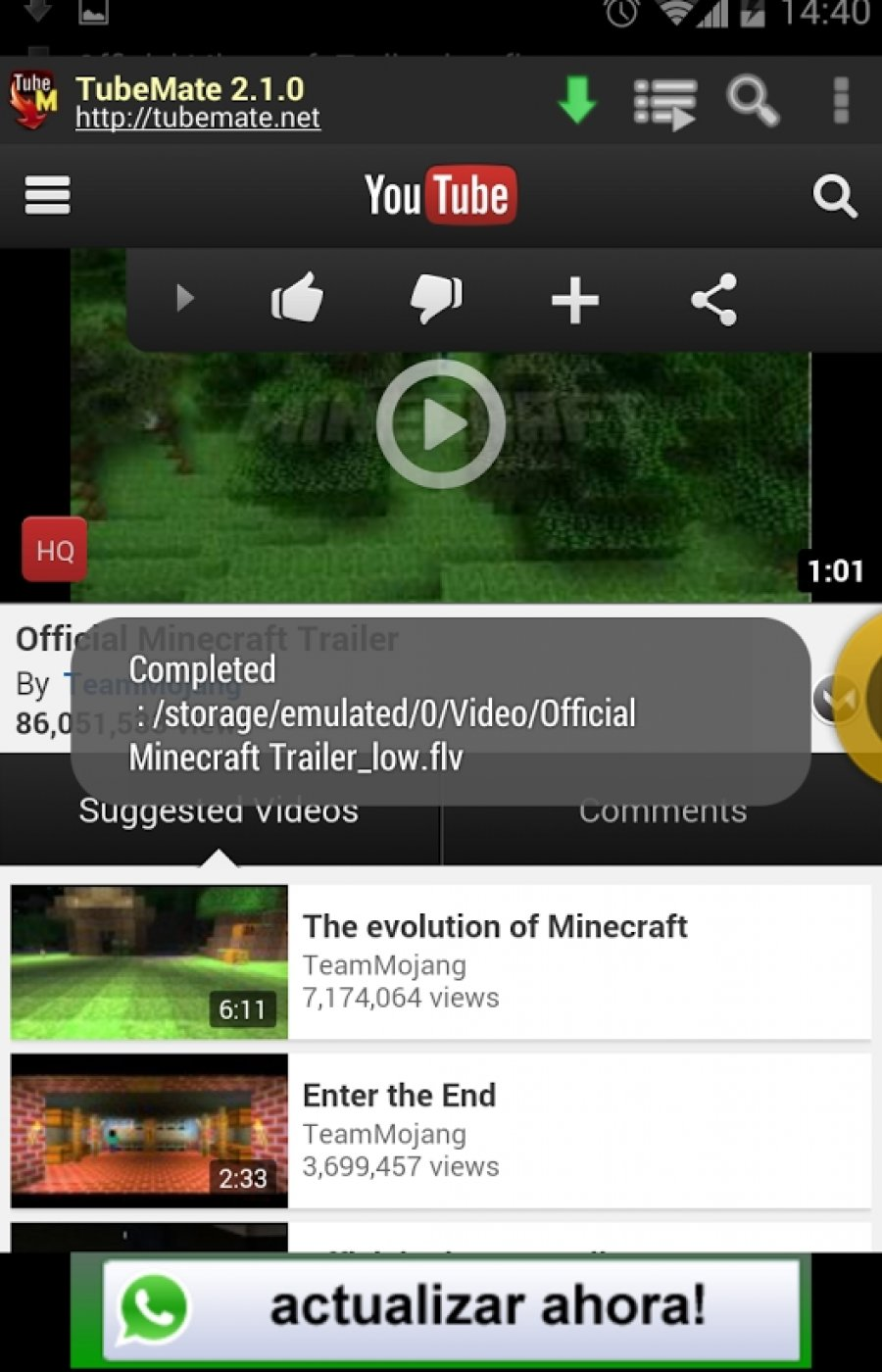 Youtube Downloader For Android Download: YouTube Downloader Tubemate Apk For Android Mobile Or