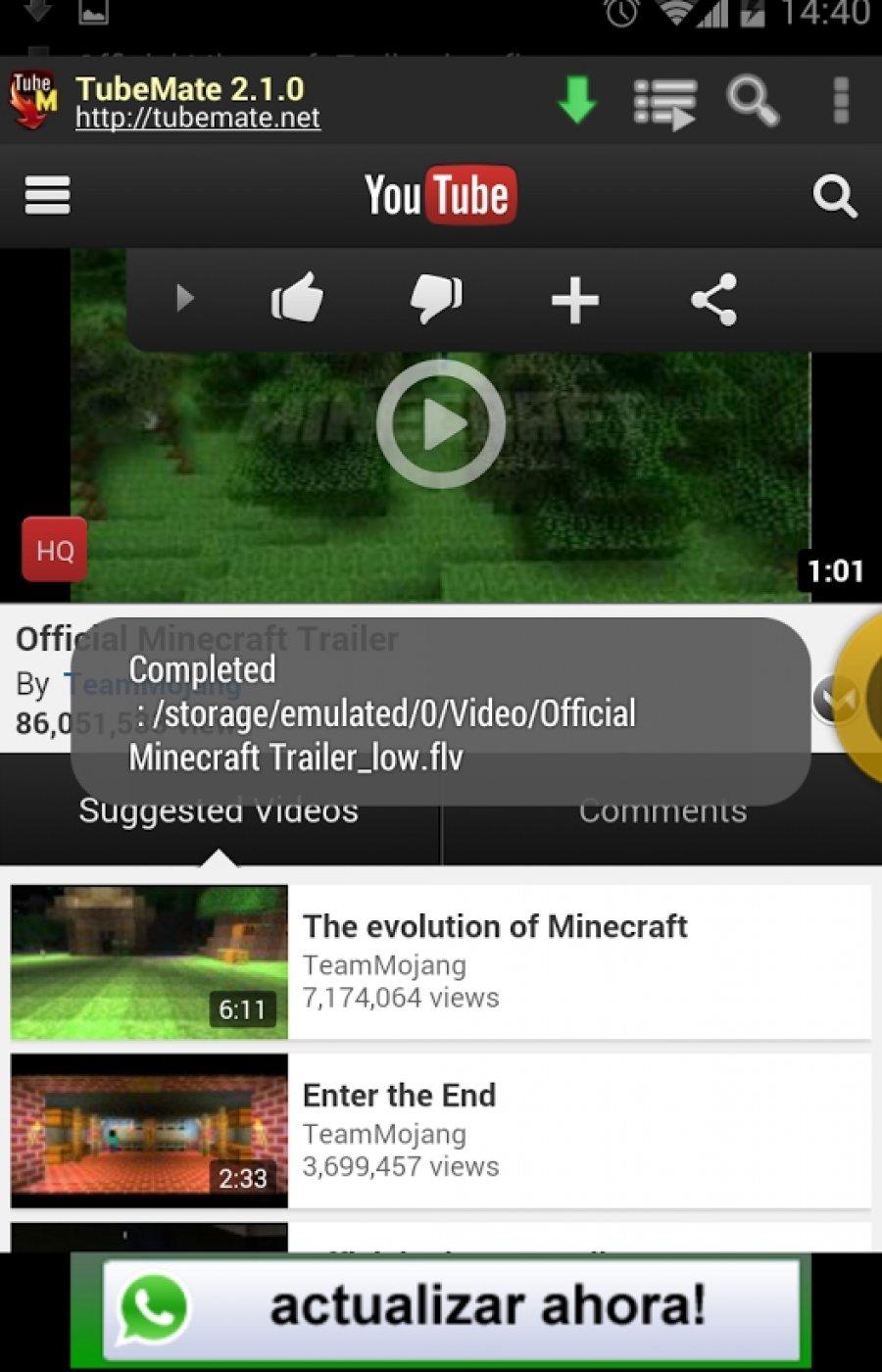YouTube Downloader Tubemate apk for Android mobile or tablet. | Nepali Internet Tricks