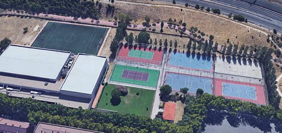 Obras En Los Polideportivos Municipales De Palomeras Alberto Garcia