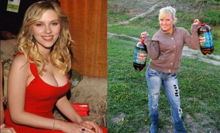 Как две капли воды: знаменитости и их двойники (15 фото)