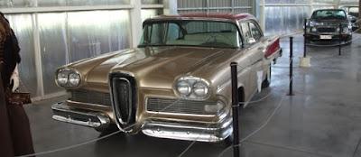 Antique Car Museum of Santiago, Chile.