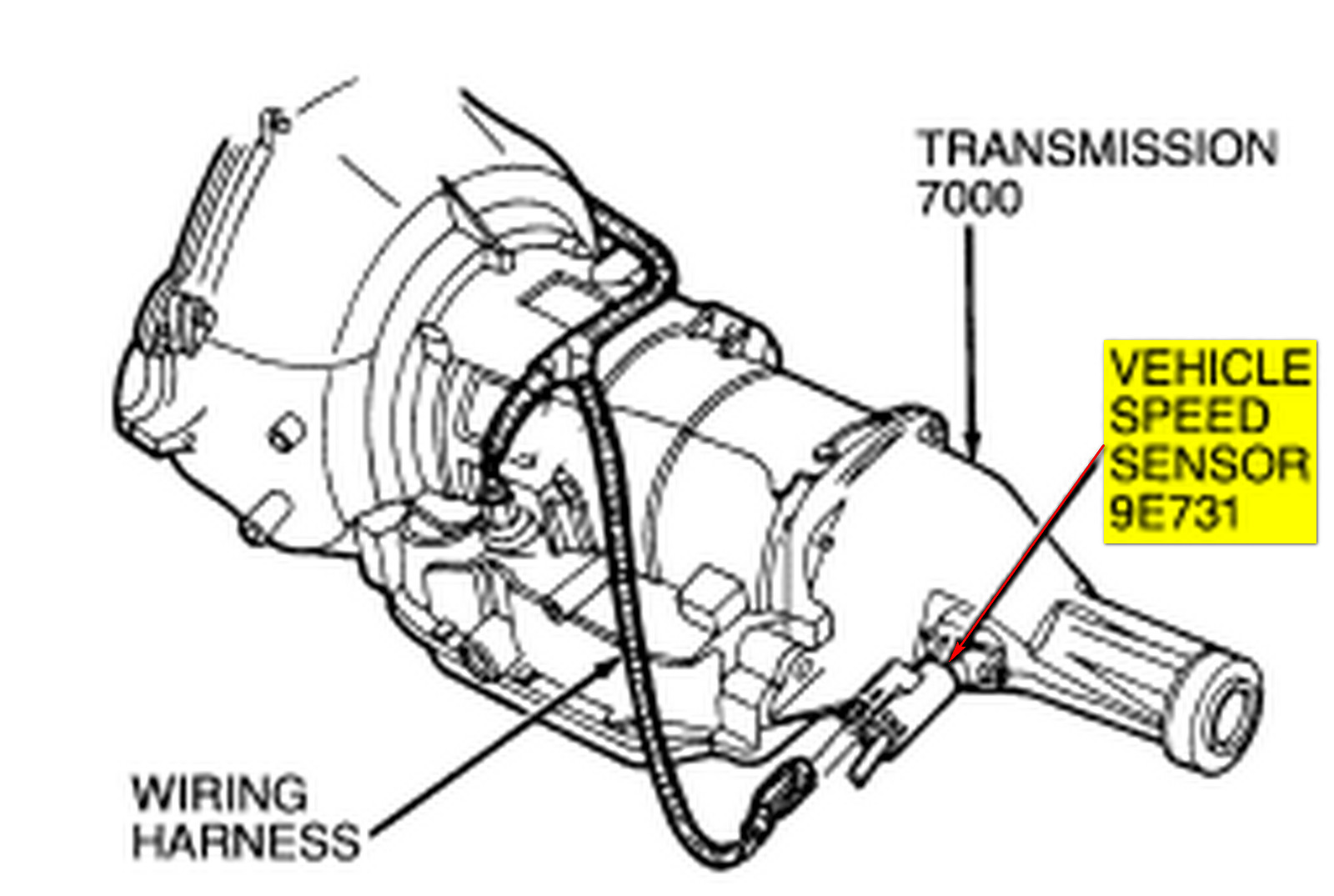 4l60e Vss Wiring Diagram 1990 Ford F150 Starter Relay Where Is The Variable Valve Timing Solenoid On A 6