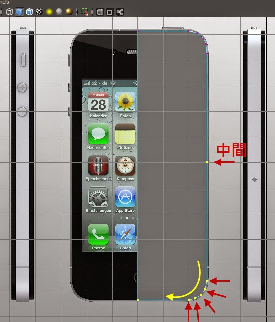 iphone Model+Map 06