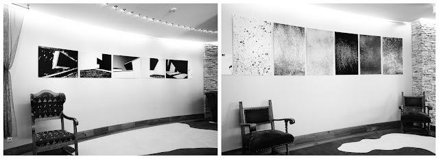 """Wystawa fotografii Klubu Fotograficznego 'Źródło"""" w Hotelu Alpine Palace Wolf w Saalbach-Hinterglemm Austria. fot. Łukasz Cyrus"""