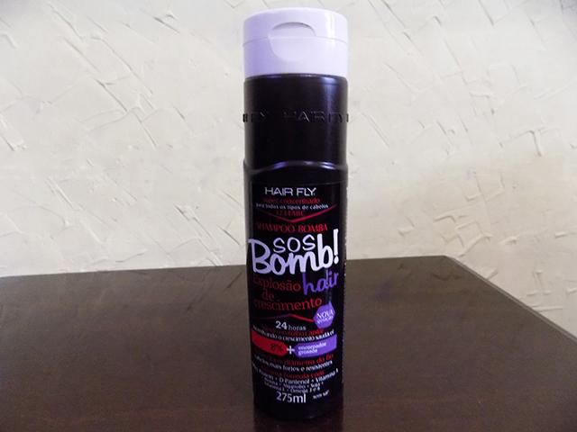 Resenha Shampoo SOS bomb! Hair Explosão de Crescimento
