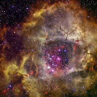 The Rosette Nebula x ray