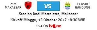 PSM Makassar vs Persib Bandung