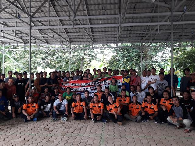 Komunitas Kicau Mania Sumatera Selatan Gelar Deklarasi Pemilu Damai  Palembang