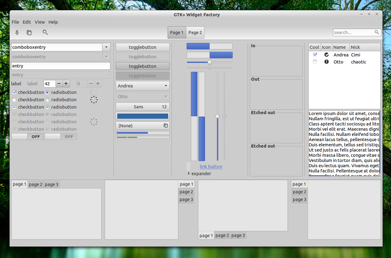 jfn linux project: 8 GTK 3 6 Compatible Themes Available In