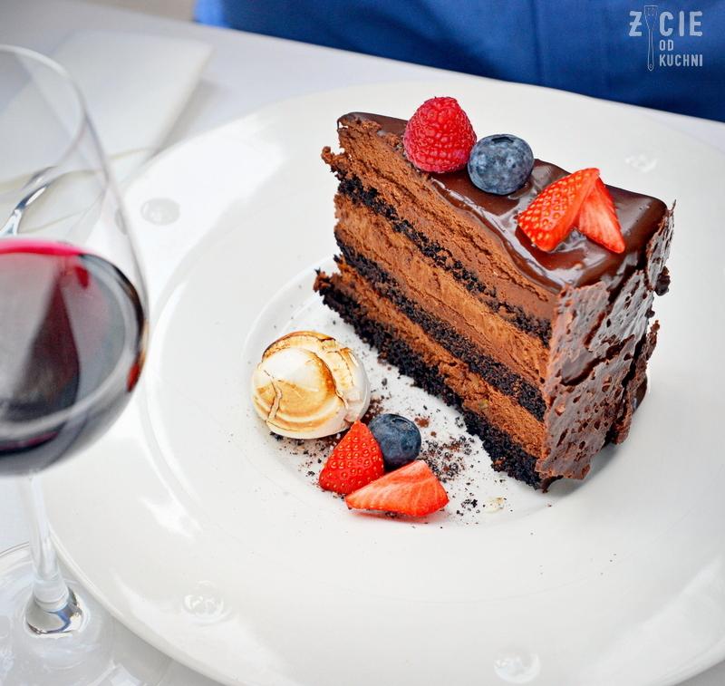 tort czekoladowy, linquine ai gamberi, wloska restauracja w krakowie, gdzie zjesc w krakowie, marcelino chleb i wino, oranzeria, restauracja krakow, projekt jana 16, zycie od kuchni