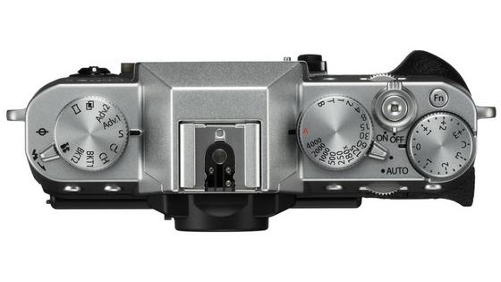 Fujifilm X-T20 top