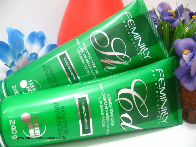 Shampoo e Condicionador Feminilly Lunna Hair
