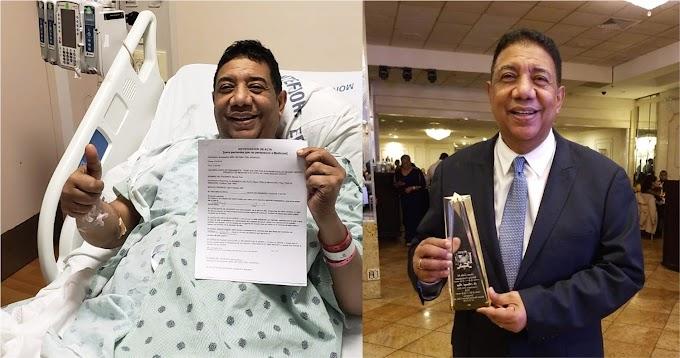 Reportero de Telemicro en Nueva York afirma vivirá abrazado a un muerto que le donó riñón