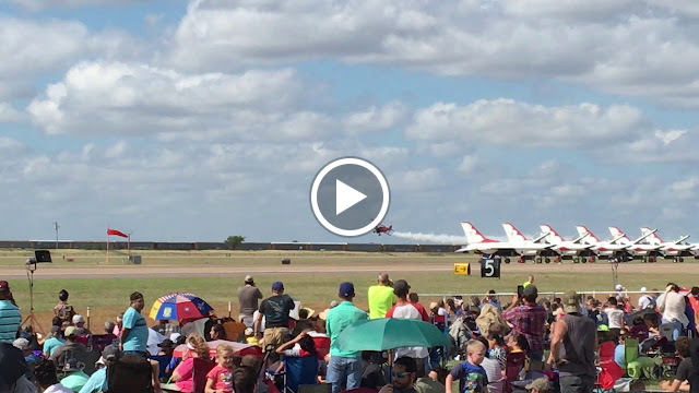 "Watching the Jack Link jet biplane take off is a serious ""what in the world?"" moment"