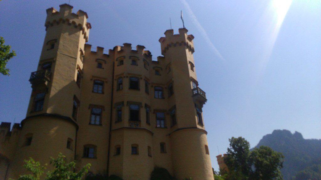 Castelo de Hohenschwangau na Alemanha