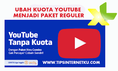 Cara Setting Anonytun Ubah Kuota Youtube XL Jadi Paket Reguler