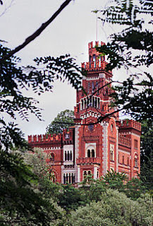Crespi himself lived in a villa made to look like a castle