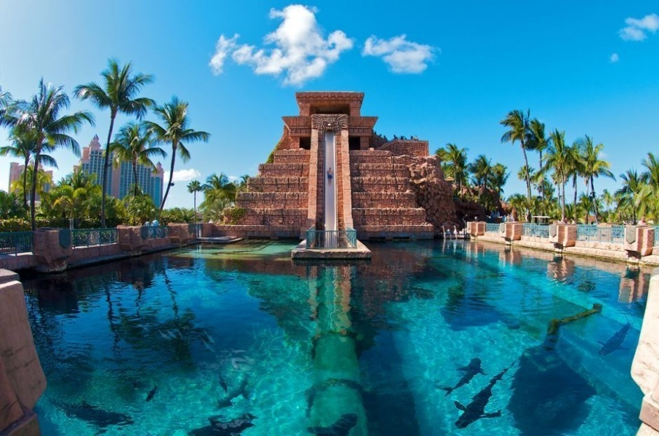 #1. Leap of Faith, Bahamas - The World's 25 Scariest Waterslides… I'm Surprised #6 Is Even Legal.