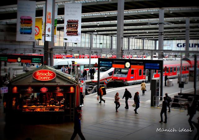 Estaci n central de m nich hauptbahnhof for Oficina turismo munich