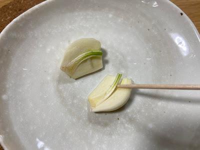 にんにくの芽 とり方1