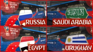 Volvo 9800 Fifa World Cup 2018 Russia Group A