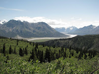 Sheep Creek Trail-Kluane National Park-Kaskawulsh Gletsjer-Slims River Valley.