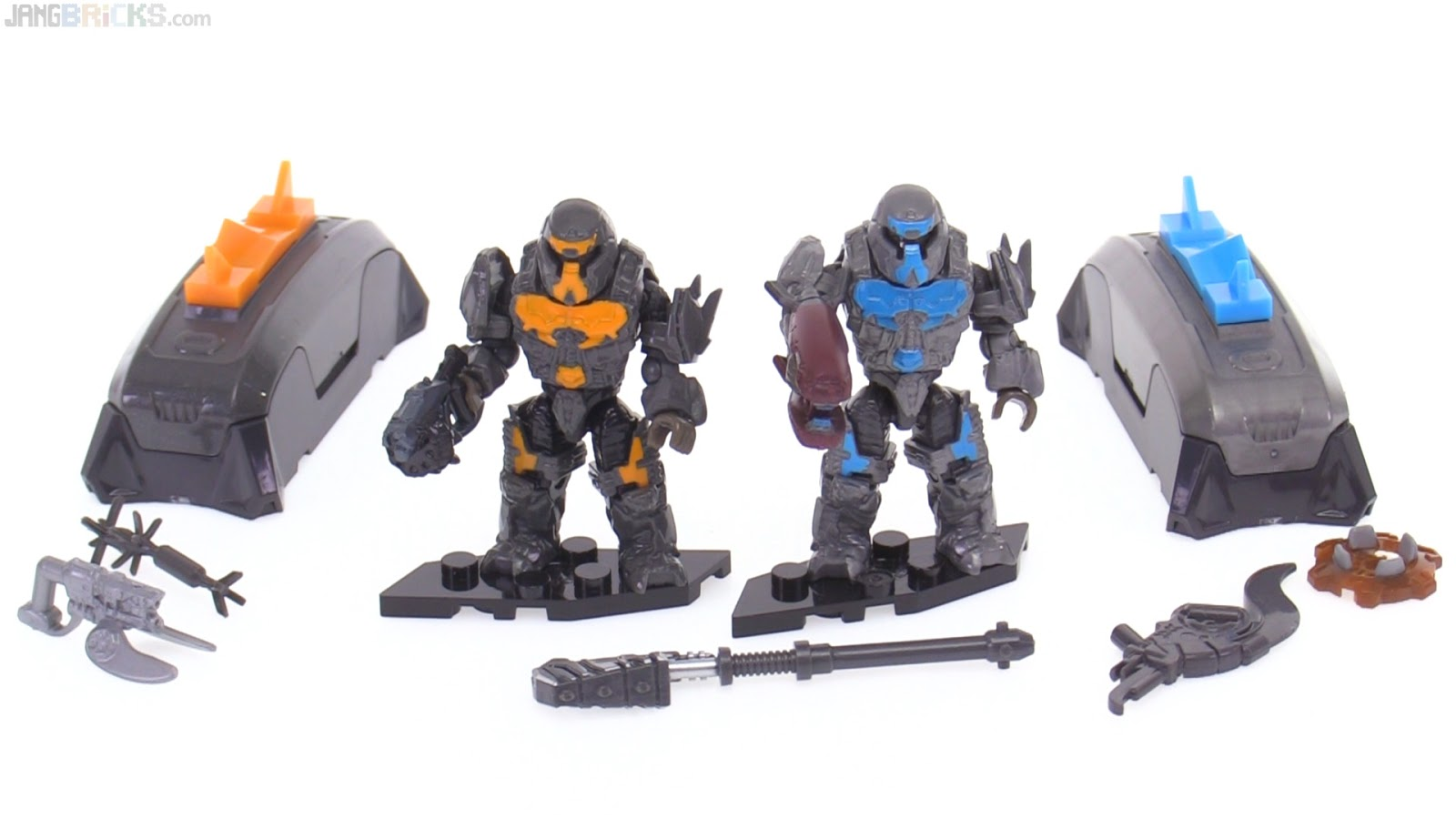 Mega Construx Halo Brute Weapons Customizer Pack Review