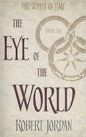 Eye of the World UK book cover by Robert Jordan, Wheel of Time