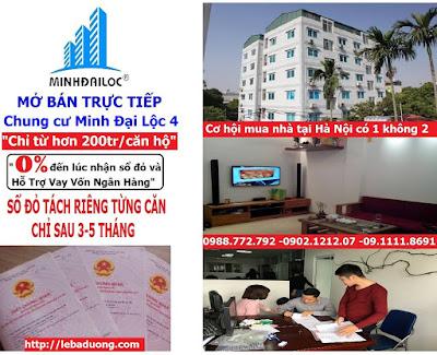 Chung cư mini giá rẻ Minh Đại Lộc 4