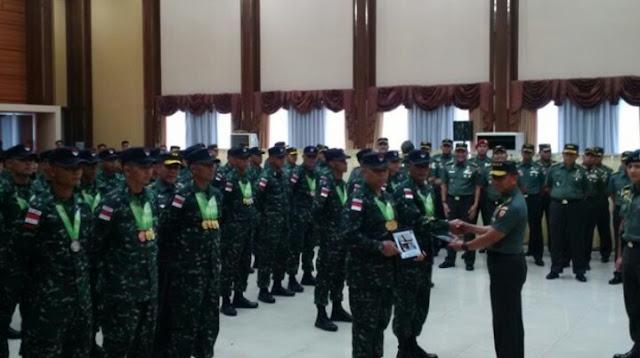 Malaysia Minta TNI AD Indonesia Latih Prajuritnya Menembak