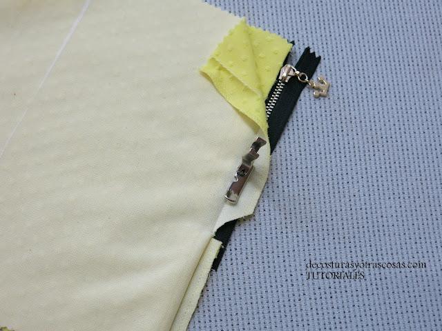 prensatelas adecuado para coser cremalleras