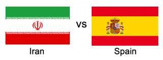 iran vs spain world cup 2018