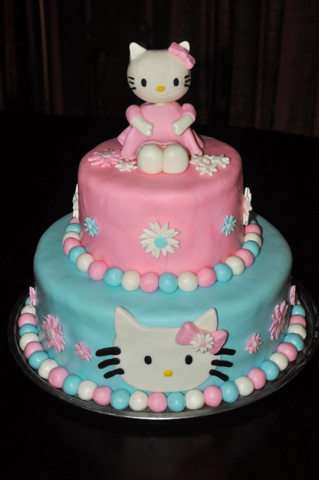 Sweet Cakes Hello Kitty Cake