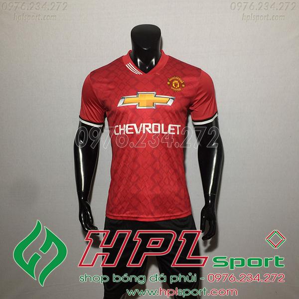 Áo bóng đá câu lạc bộ MU training đỏ